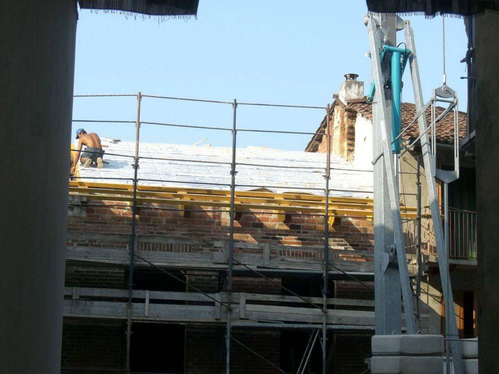 Copertura nuovo fabbricato, Castelnuovo Don Bosco (Asti)