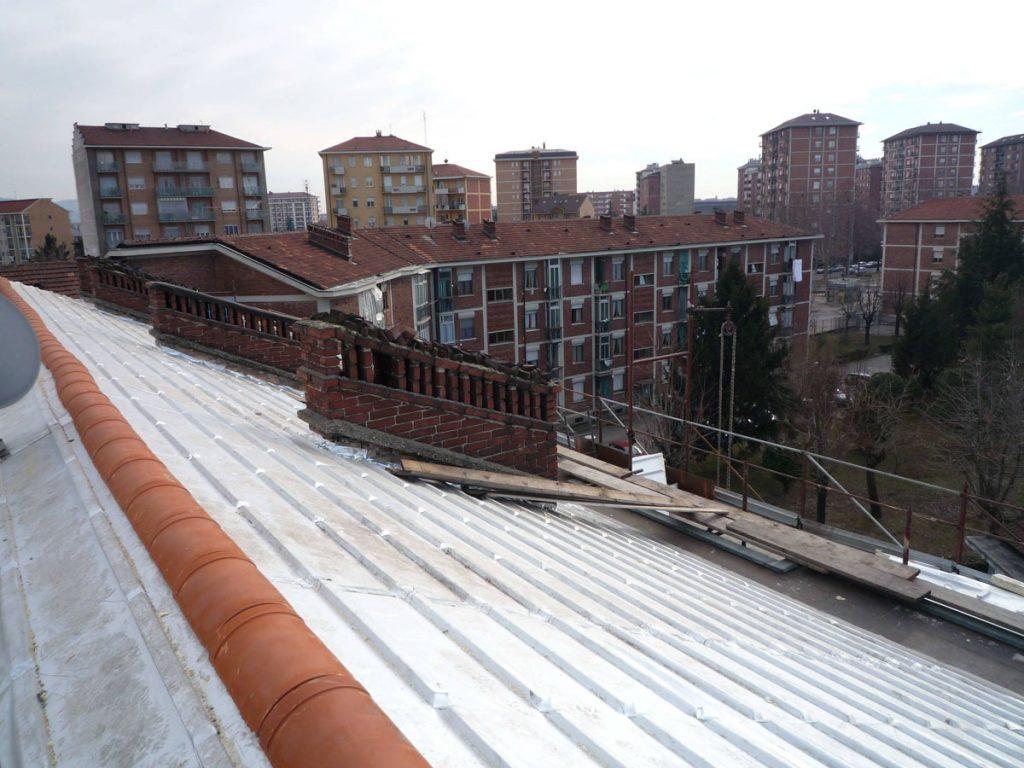Copertura case ATC con pannelli isolanti – Torino