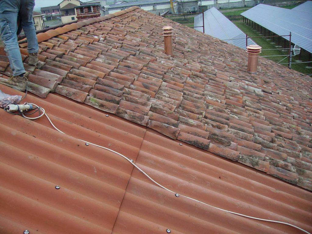 Rifacimento copertura cascinale, Racconigi (Cuneo)