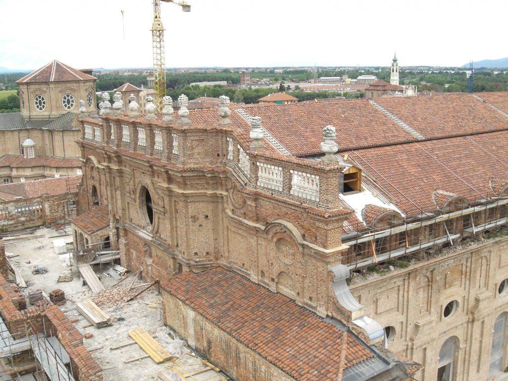 Copertura Citroniera della Reggia di Venaria (Torino)